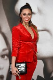 Katya Jones – 'Allied' Premiere in London, UK 11/21/ 2016