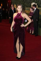 Kelly Brook at the London Evening Standard Theatre Awards 2016