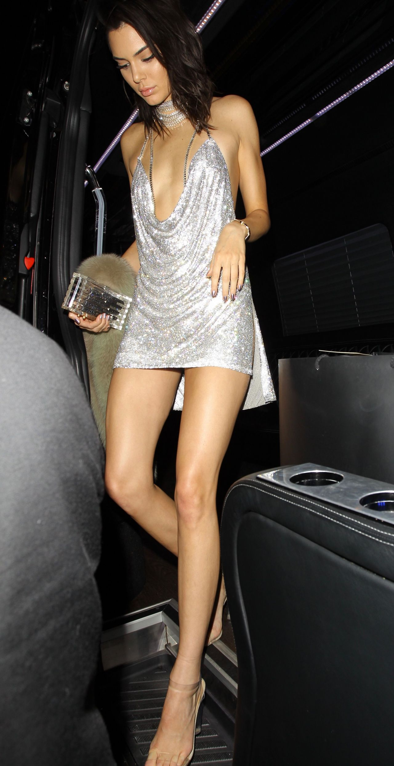 Kendall Jenner At Her 21st Birthday Party At Delilah In