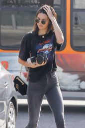 Kendall Jenner in Tight Jeans - Shopping in West Hollywood 11/16/ 2016