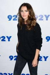 Keri Russell - An Evening With 'The Americans' at the 92Y in New York 10/30/ 2016