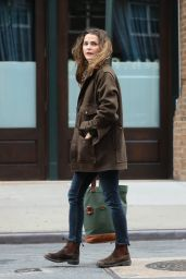 Keri Russell Autumn Style - Out in NYC 11/21/ 2016