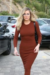 Khloe Kardashian - Arriving At A Baby Shower in Beverly Hills 11/12/ 2016