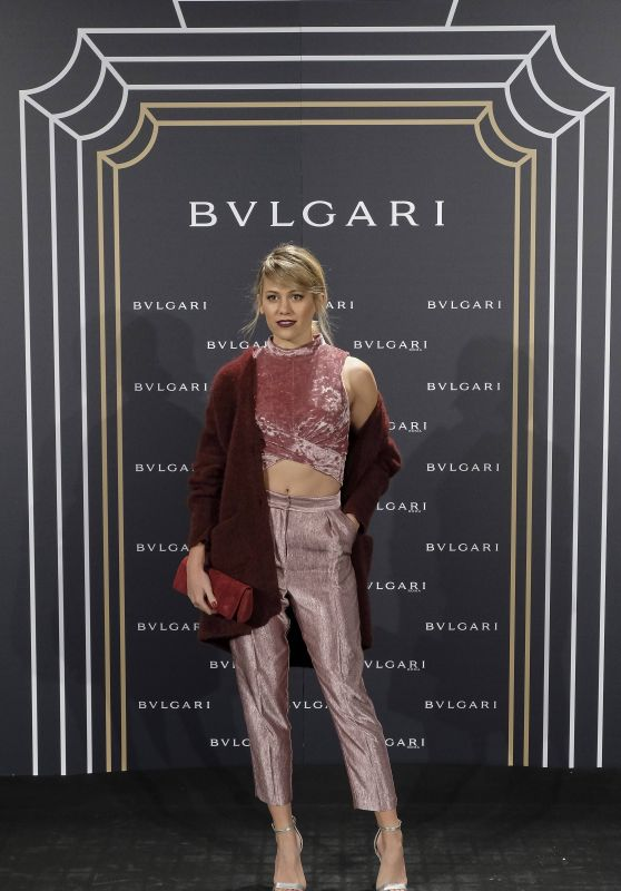 Kimberley Tell – Bulgari Cocktail Event in Madrid 11/28/ 2016