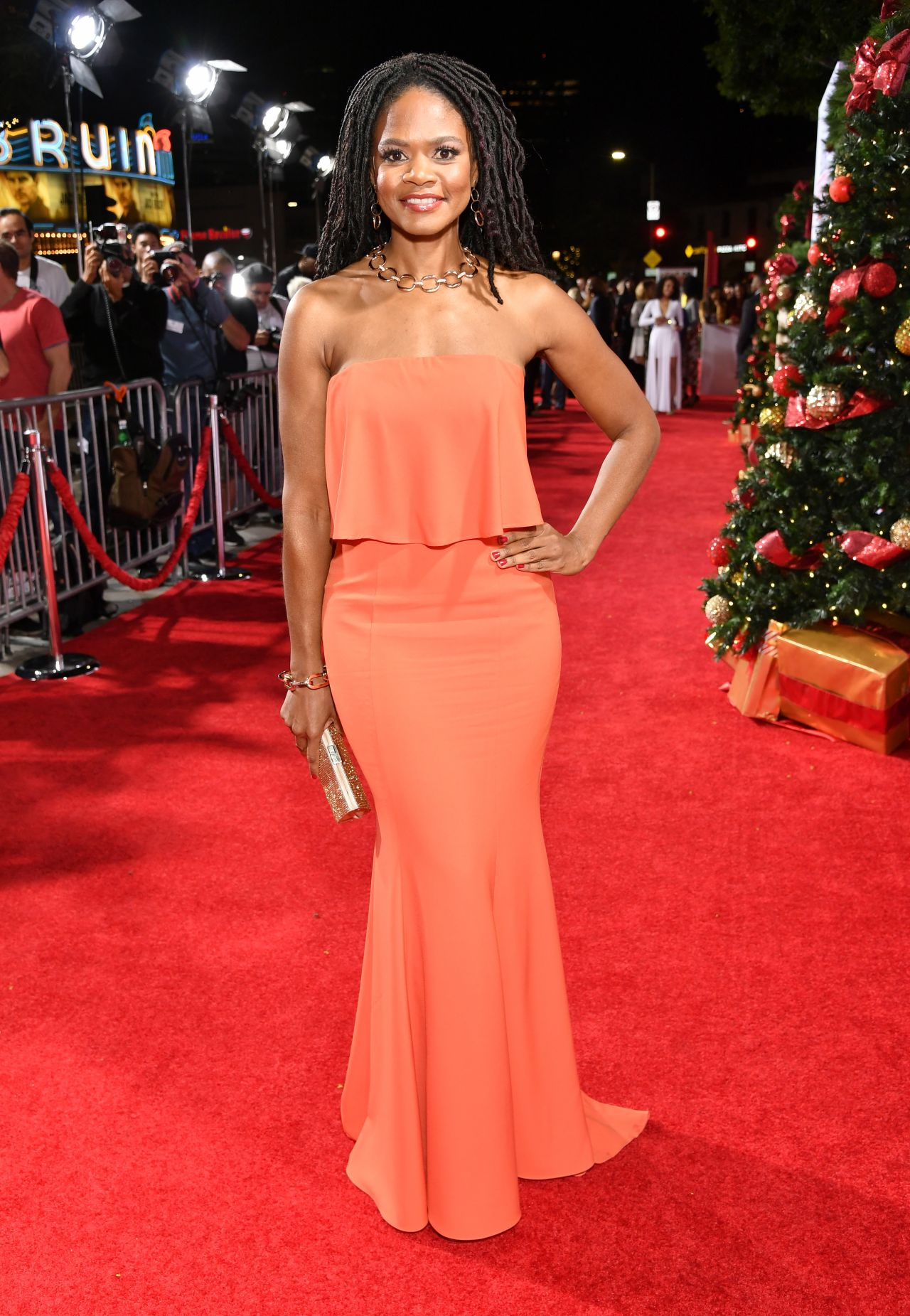 Kimberly Elise Almost Christmas Premiere In Westwood