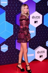 Laura Whitmore – MTV Europe Music Awards in Rotterdam 11/6/2016