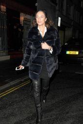 Lilly Becker - Leaving Nobu Restaurant in Mayfair London 11/9/2016