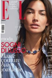 Lily Aldridge - Elle Magazine Italy December 2016 Issue