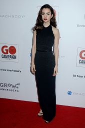 Lily Collins - GO Campaign Gala at Hauser Wirth and Schimmel in Los Angeles 11/5/ 2016