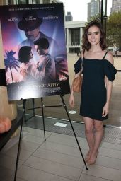 Lily Collins - Lunch in Honor of