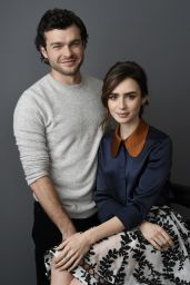 Lily Collins Portraits - The Associated Press, November 2016