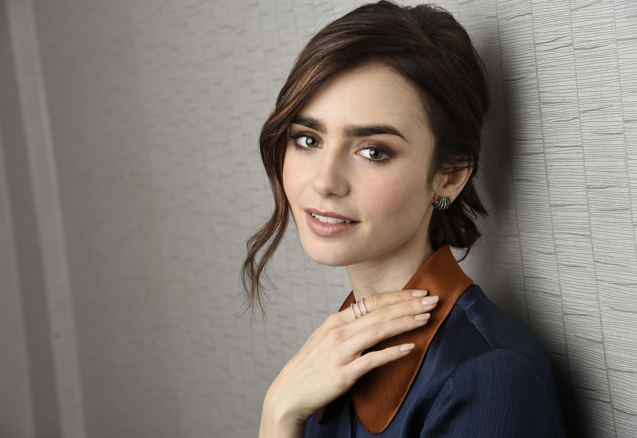 Lily Collins Portraits The Associated Press November 2016