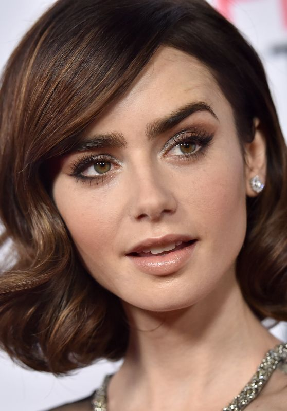 Lily Collins Rules Don T Apply Premiere In Los Angeles