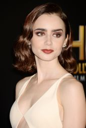 Lily Collins - The 20th Annual Hollywood Awards in Los Angeles 11/6/ 2016
