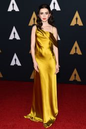 Lily Collins - The Governors Awards 2016 in Hollywood