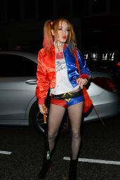 Lindsay Lohan - Halloween Party in Chelsea 11/1/2016