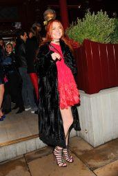 Lindsay Lohan - Leaving Lou Lous Members Club in London, November 2016