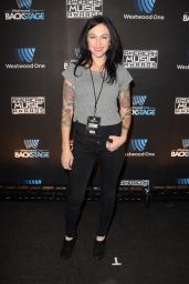 Lindsey Armstrong - Westwood One Backstage at the American Music Awards in LA 11/18/ 2016