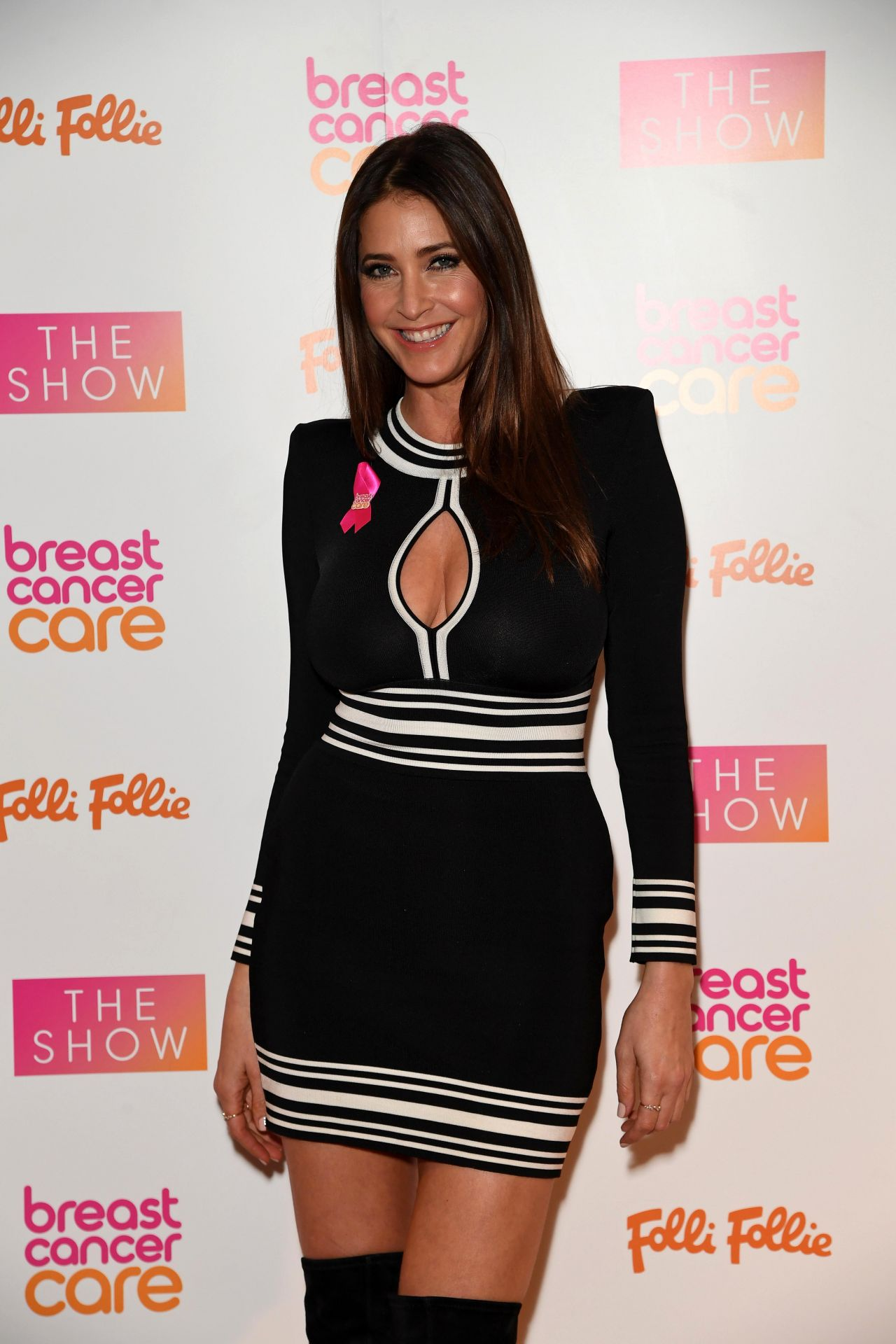 Lisa Snowdon Breast Cancer Care Show In London 11 02 2016