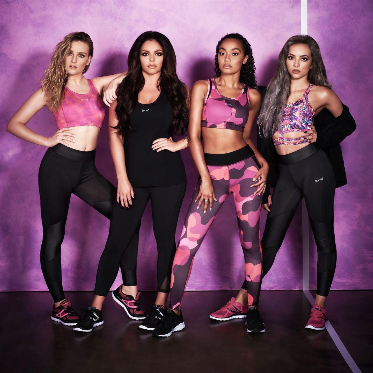 Little Mix Usa Pro The Zen Edit Photoshoot 2016