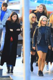 Lottie Moss - With Friends in Barcelona, Spain 11/12/ 2016