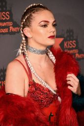 Louisa Johnson - Kiss Haunted House Party in London, October 2016