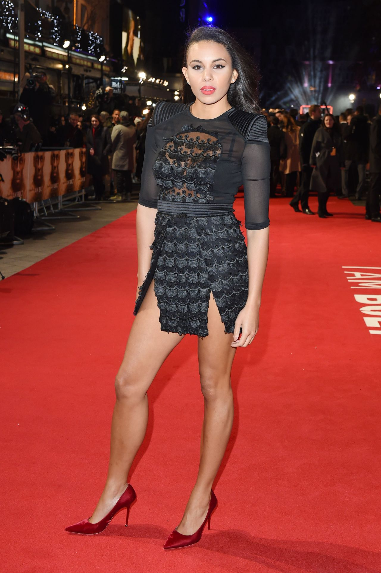 Louise Hazel I Am Bolt Premiere In London