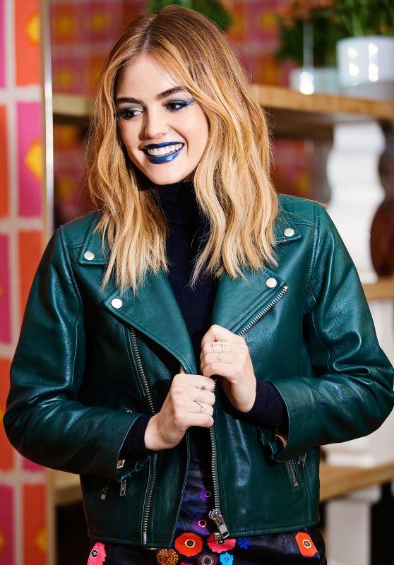 Lucy Hale - Cosmopolitan MarkGirl Shoot, November 2016
