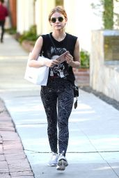 Lucy Hale in Spandex - Out in Los Angeles 11/10/ 2016