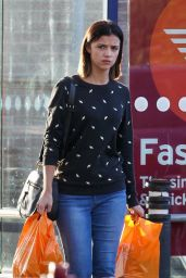 Lucy Mecklenburgh - Shopping at A Supermarket in Essex 11/7/2016