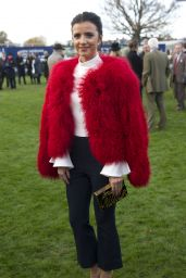 Lucy Mecklenburgh - The Hennessy Gold Cup at Newbury Racecourse, England 11/26/ 2016