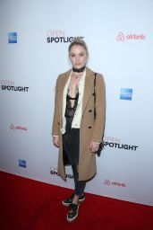 Maika Monroe - Airbnb Open Spotlight in Los Angeles 11/19/ 2016