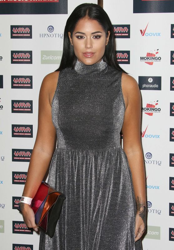 Malin Andersson – The Urban Music Awards 2016 in London