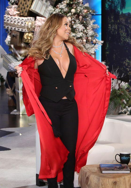 Mariah Carey - Reavaling Cleavage Caps From