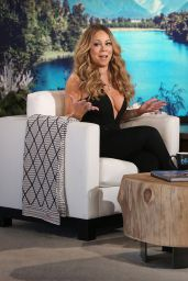 Mariah Carey - Reavaling Cleavage Caps From