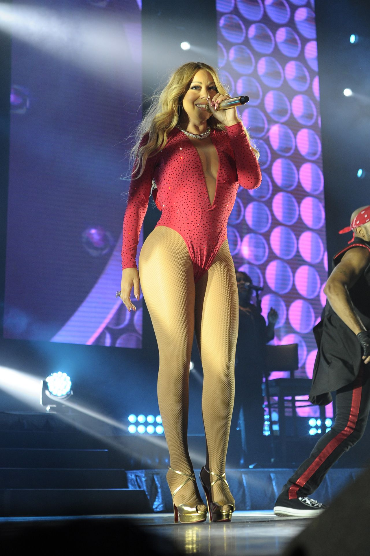 Mariah Carey - The Sweet Sweet Fantasy Tour in Mexico City ... мэрайя кэри