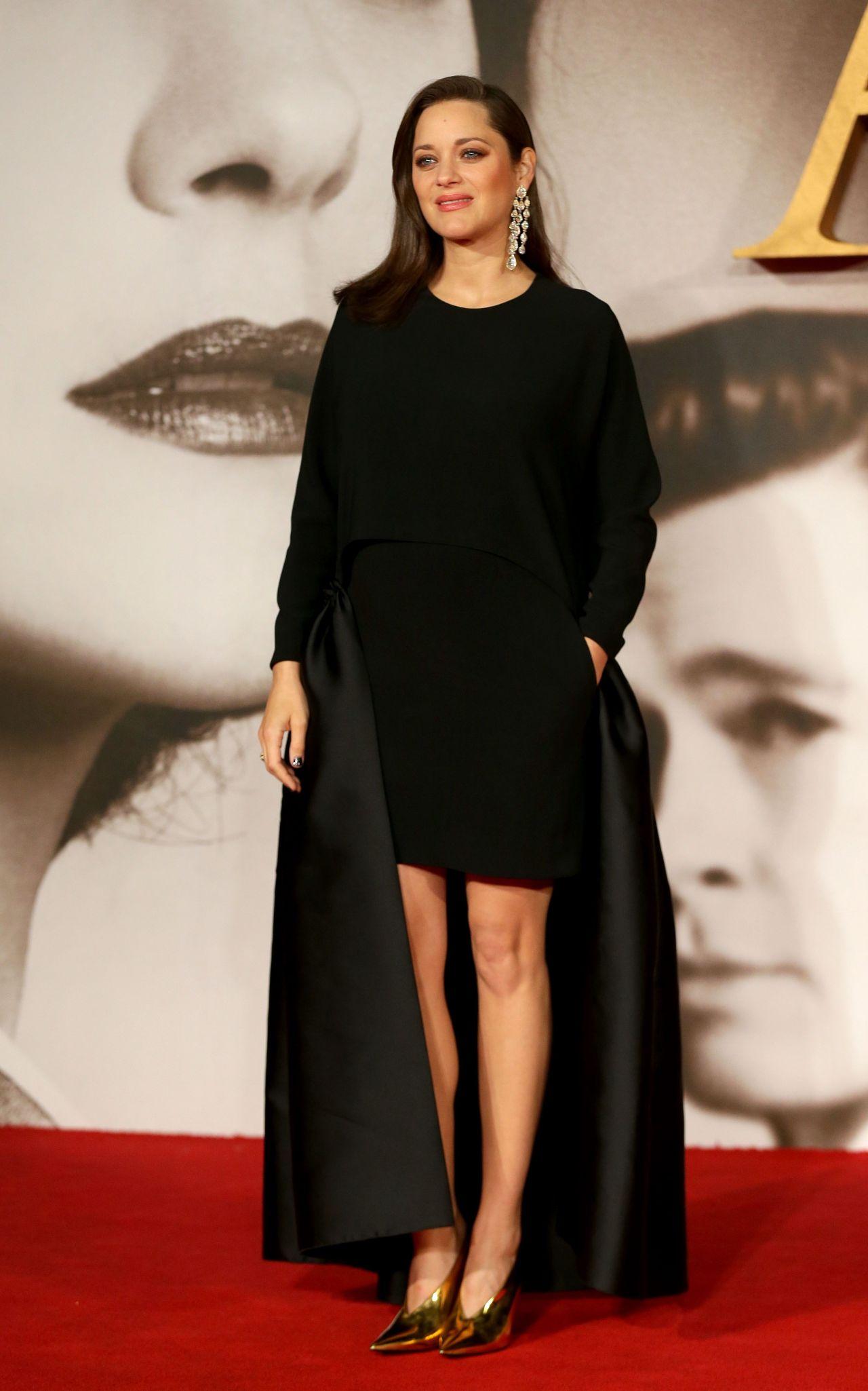Marion Cotillard Allied Film Premiere In London 11 21