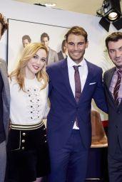 Marta Hazas - Tommy Hilfiger Announce Rafael Nadal as Brand Ambassador, Madrid 11/28/ 2016