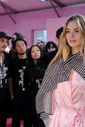 Megan Williams – Victoria's Secret Fashion Show 2016 Backstage