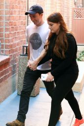 Meghan Trainor and Daryl Sabara - Visiting a Medical Building in Beverly Hills 11/09/2016