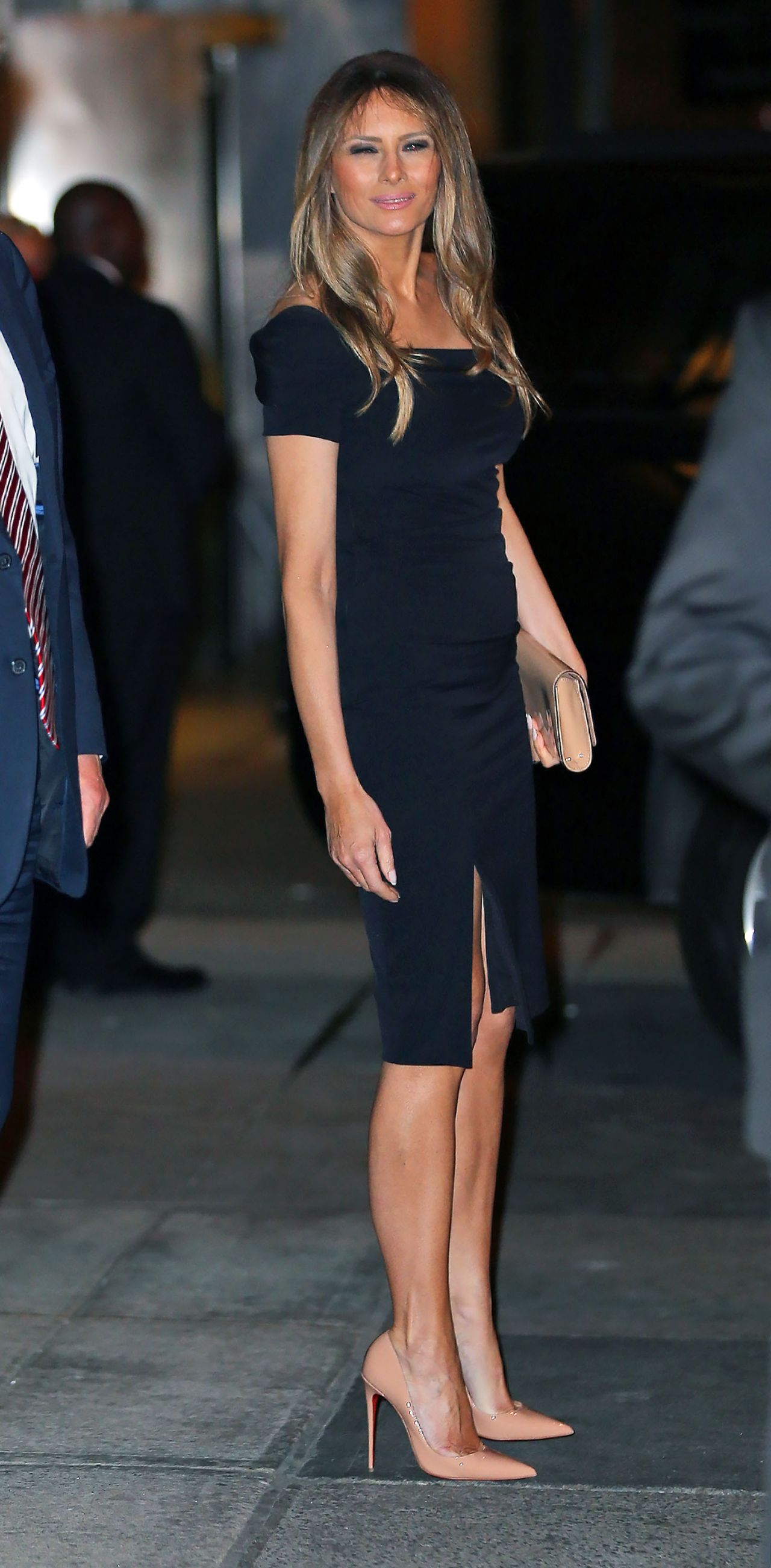 Melania Trump - Departing Polo Club Restaurant in NYC ...