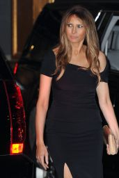 Melania Trump - Departing Polo Club Restaurant in NYC, August 2016