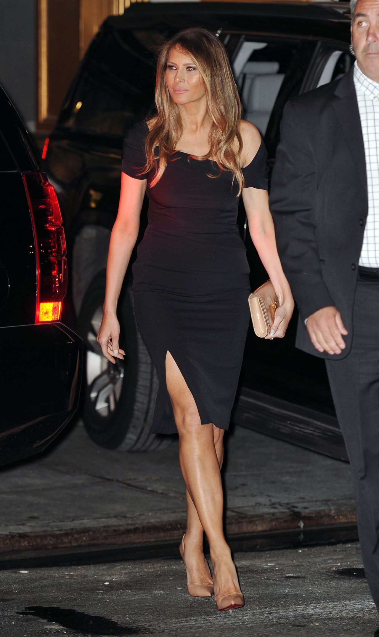 Melania Trump – Departing Polo Club Restaurant in NYC, August 2016