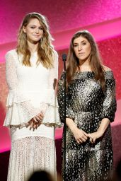 Melissa Benoist and Mayim Bialik – Marie Claire Young Women's Honors in Marina Del Rey 11/19/ 2016