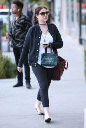 Michelle Trachtenberg Street Style - Shopping in Beverly Hills 11/22/ 2016