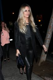 Morgan Stewart - Delilah Club in West Hollywood 11/27/ 2016