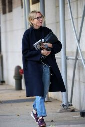 Naomi Watts - Returns to Her New York Home After a Holiday 11/27/ 2016