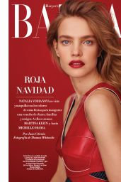 Natalia Vodianova - Harper's Bazaar Magazine Spain December 2016 Issue
