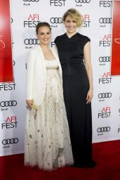 Natalie Portman at AFI Fest 2016, presented by Audi -