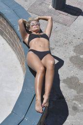 Natasha Oakley Bikini Photoshoot - Sydney, Australia 11/24/ 2016